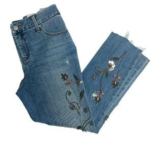 Chicos Jeans Size 0P US 4P So Slimming Petite Bead